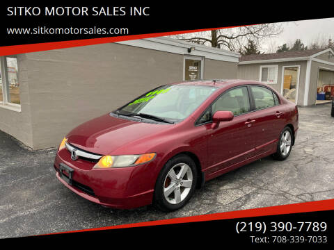 2007 Honda Civic for sale at SITKO MOTOR SALES INC in Cedar Lake IN