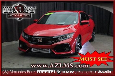 2017 Honda Civic for sale at Luxury Motorsports in Phoenix AZ