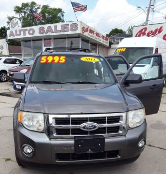 2011 Ford Escape for sale at Best Auto & tires inc in Milwaukee WI