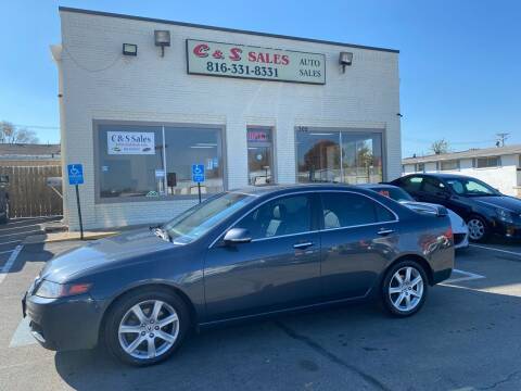 2005 Acura TSX for sale at C & S SALES in Belton MO