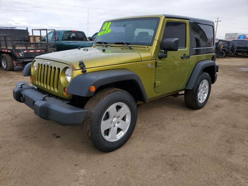 2008 Jeep Wrangler for sale at HORSEPOWER AUTO BROKERS in Fort Collins CO