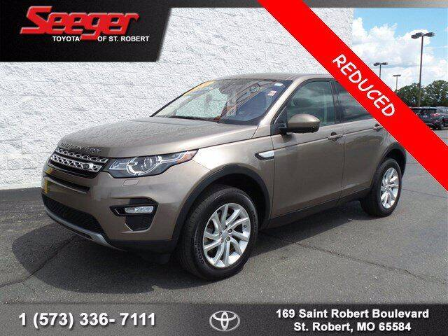 2017 Land Rover Discovery Sport for sale at SEEGER TOYOTA OF ST ROBERT in St Robert MO