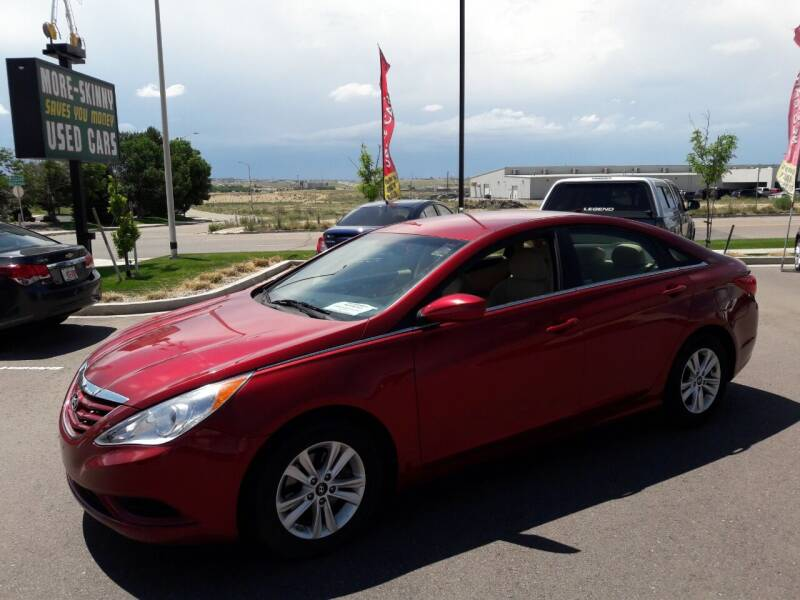 2013 Hyundai Sonata for sale at More-Skinny Used Cars in Pueblo CO