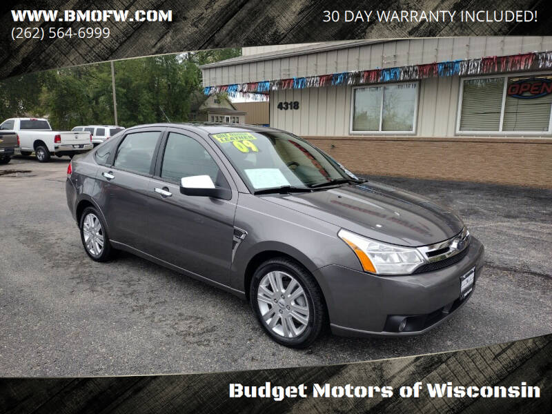 2009 Ford Focus for sale at Budget Motors of Wisconsin in Racine WI