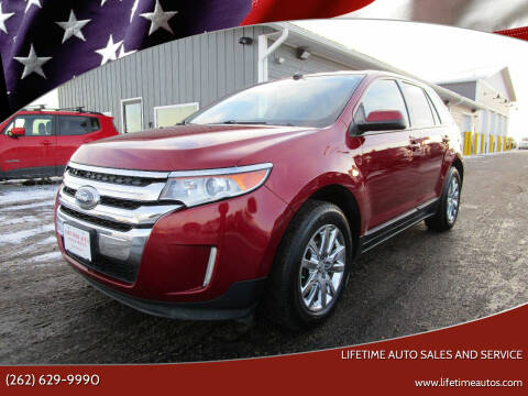 2013 Ford Edge for sale at Lifetime Auto Sales and Service in West Bend WI