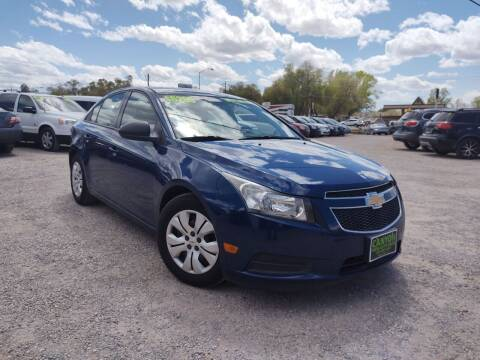 2013 Chevrolet Cruze for sale at Canyon View Auto Sales in Cedar City UT