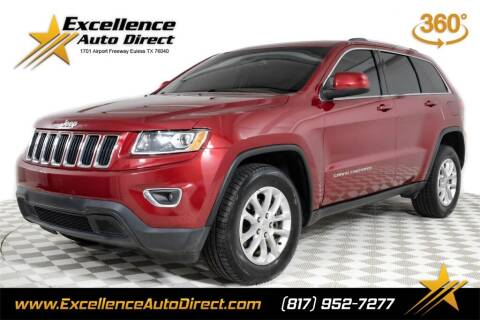 2014 Jeep Grand Cherokee for sale at Excellence Auto Direct in Euless TX