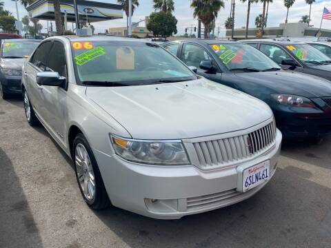 2006 Lincoln Zephyr for sale at North County Auto in Oceanside CA