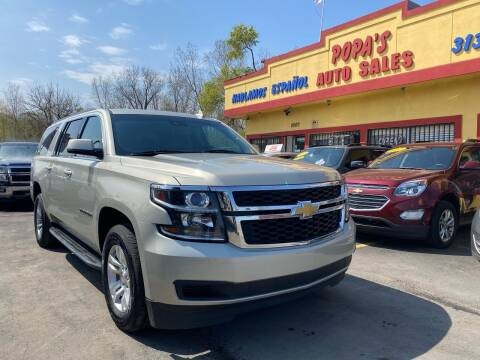 2015 Chevrolet Suburban for sale at Popas Auto Sales in Detroit MI
