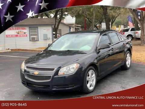2011 Chevrolet Malibu for sale at Central Union Auto Finance LLC in Austin TX