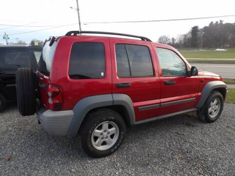2006 Jeep Liberty for sale at English Autos in Grove City PA