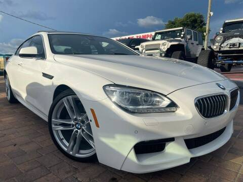 2013 BMW 6 Series for sale at Cars of Tampa in Tampa FL