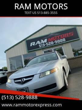 2004 Acura TL for sale at RAM MOTORS in Cincinnati OH