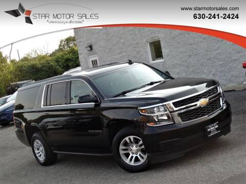 2018 Chevrolet Suburban for sale at Star Motor Sales in Downers Grove IL