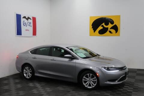 2015 Chrysler 200 for sale at Carousel Auto Group in Iowa City IA