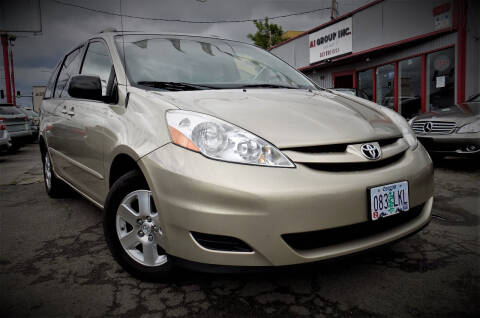 2007 Toyota Sienna for sale at A1 Group Inc in Portland OR
