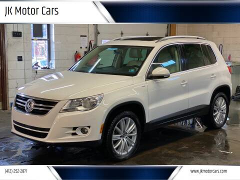 2010 Volkswagen Tiguan for sale at JK Motor Cars in Pittsburgh PA