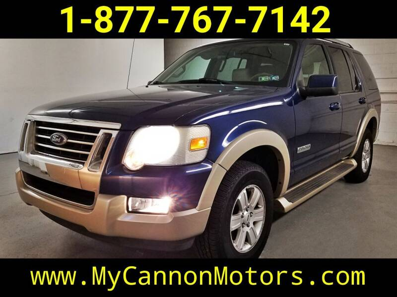 2006 Ford Explorer for sale at Cannon Motors in Silverdale PA