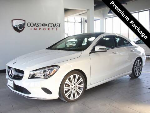 2018 Mercedes-Benz CLA for sale at Coast to Coast Imports in Fishers IN