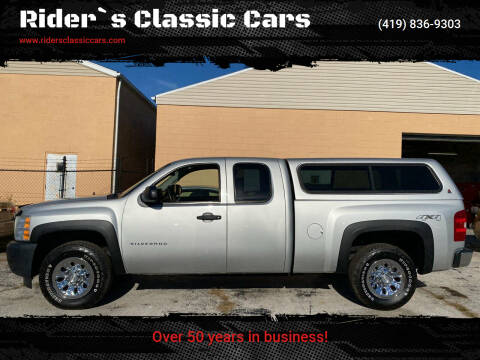 2010 Chevrolet Silverado 1500 for sale at Rider`s Classic Cars in Millbury OH