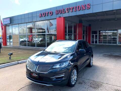 2015 Lincoln MKC for sale at Auto Solutions in Warr Acres OK