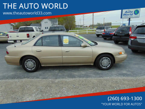 2005 Buick Century for sale at THE AUTO WORLD in Churubusco IN