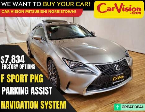 2017 Lexus RC 200t for sale at Car Vision Mitsubishi Norristown in Norristown PA