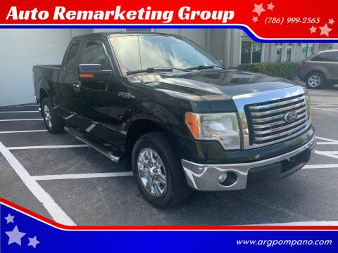 2012 Ford F-150 for sale at Auto Remarketing Group in Pompano Beach FL