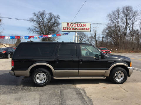 2000 Ford Excursion for sale at Action Auto Wholesale in Painesville OH