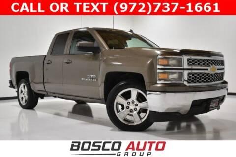 2014 Chevrolet Silverado 1500 for sale at Bosco Auto Group in Flower Mound TX