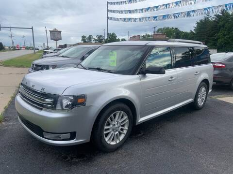 2014 Ford Flex for sale at GENE AND TONYS DEMOTTE AUTO SALES in Demotte IN