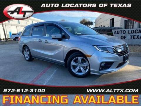 2019 Honda Odyssey for sale at AUTO LOCATORS OF TEXAS in Plano TX