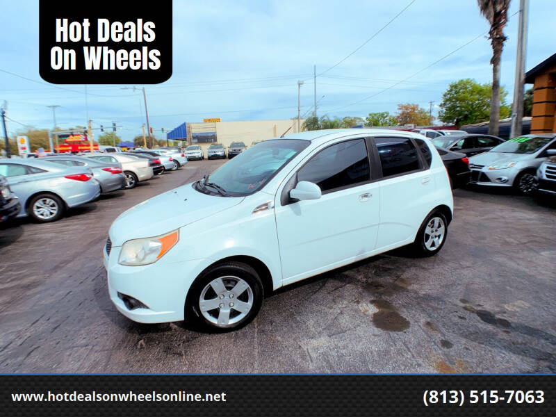 2011 Chevrolet Aveo for sale at Hot Deals On Wheels in Tampa FL