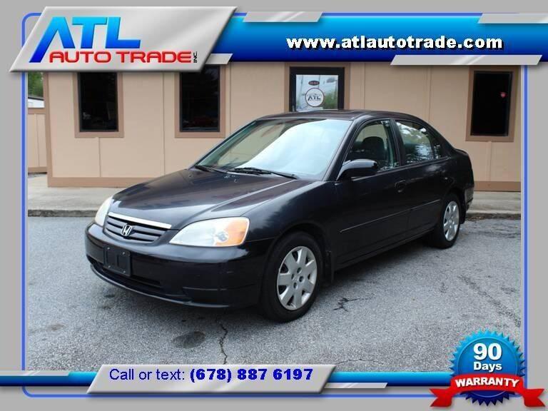 2001 Honda Civic for sale at ATL Auto Trade, Inc. in Stone Mountain GA