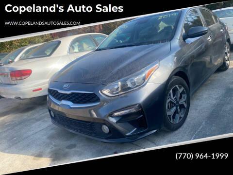 2019 Kia Forte for sale at Copeland's Auto Sales in Union City GA