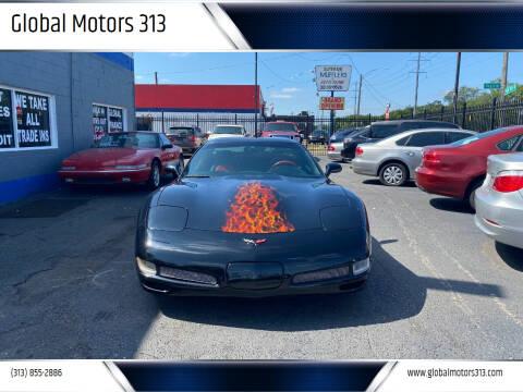 2001 Chevrolet Corvette for sale at Global Motors 313 in Detroit MI