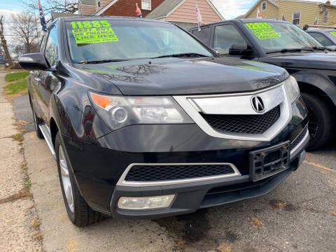 2010 Acura MDX for sale at GRAND USED CARS  INC in Little Ferry NJ