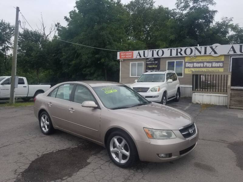 2007 Hyundai Sonata for sale at Auto Tronix in Lexington KY