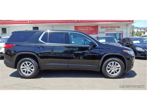 2019 Chevrolet Traverse for sale at Dealers Choice Inc in Farmersville CA
