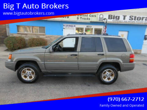 1998 Jeep Grand Cherokee for sale at Big T Auto Brokers in Loveland CO