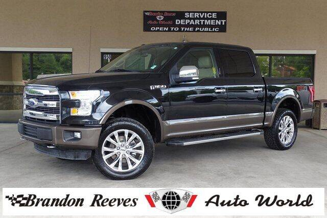 2015 Ford F-150 for sale at Brandon Reeves Auto World in Monroe NC