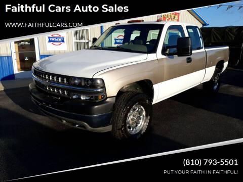 2001 Chevrolet Silverado 2500HD for sale at Faithful Cars Auto Sales in North Branch MI
