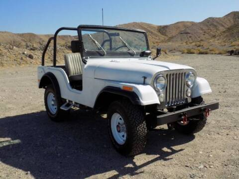 1971 Jeep CJ-5 for sale at Classic Car Deals in Cadillac MI