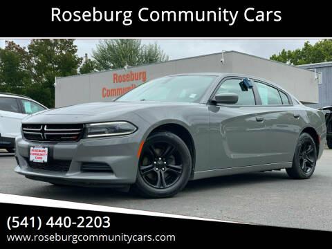 2017 Dodge Charger for sale at Roseburg Community Cars in Roseburg OR
