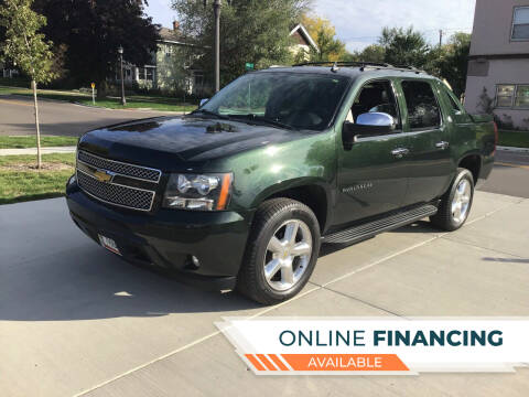 2013 Chevrolet Avalanche for sale at K & L Auto Sales in Saint Paul MN