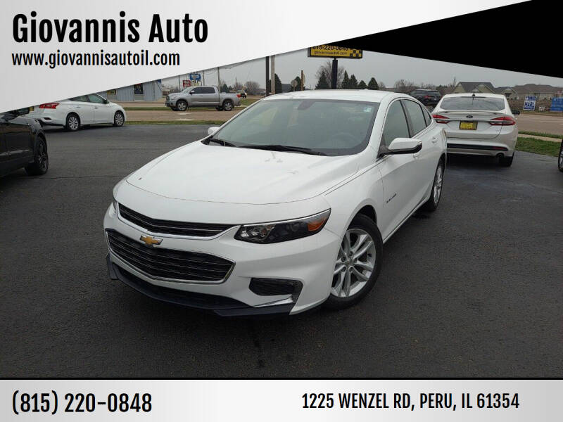 2017 Chevrolet Malibu for sale at Giovannis Auto in Peru IL