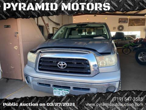 2008 Toyota Tundra for sale at PYRAMID MOTORS - Pueblo Lot in Pueblo CO
