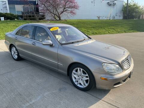 2003 Mercedes-Benz S-Class for sale at Best Buy Auto Mart in Lexington KY