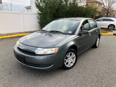 2004 Saturn Ion for sale at Giordano Auto Sales in Hasbrouck Heights NJ