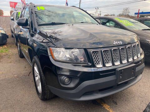 2014 Jeep Compass for sale at GRAND USED CARS  INC in Little Ferry NJ